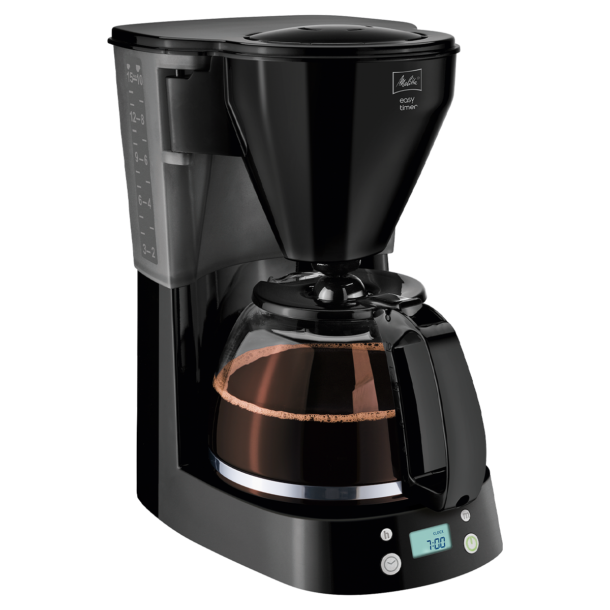 Cafetiera Easy Timer, black, Melitta
